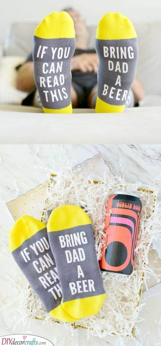 Funny Socks - Great Gifts for Dads who Have Everything