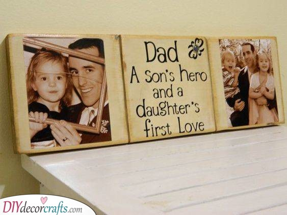 Personalised Sign for Dad - Awesome Birthday Gifts for Dad