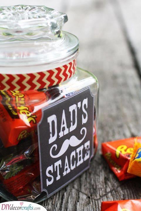 Stash or Stache - Dad's Favourite Treats