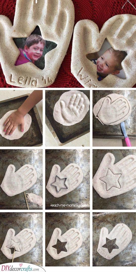 Handprint Ornament - A Real Treasure