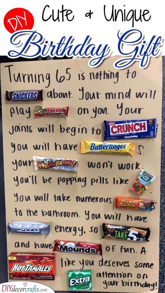 A Sweet Message - Unique Chocolate Idea