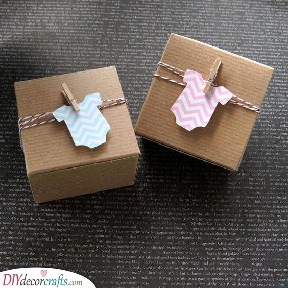 Little Boxes as Envelopes - For the Cards