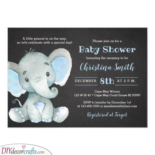 Excellent Elephants - Simple and Adorable Card