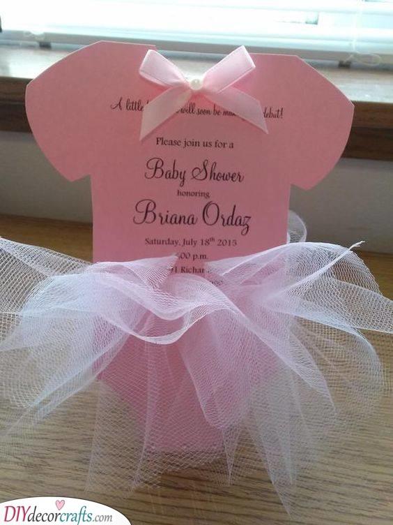 Tutu Inspired Card - Pretty in Pink