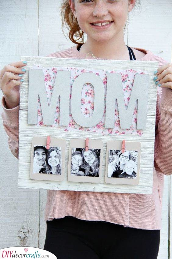 A Bit of Decor - Family Polaroids
