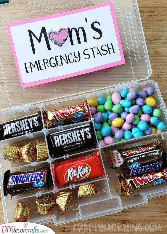 An Emergency Stash - Her Favourite Candy