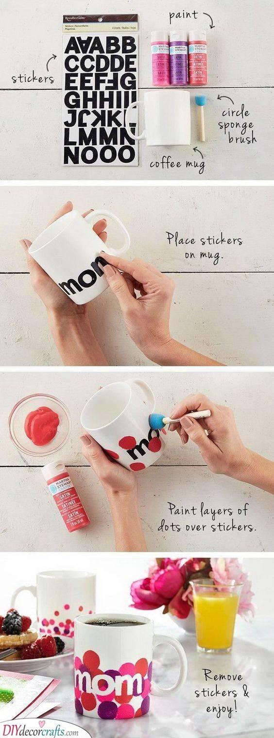 A Handmade Mug - Best Gifts for Mom