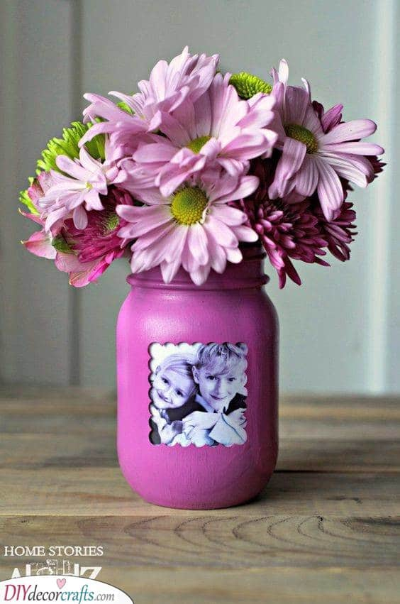 A Vase of the Kids - Best Gifts for Moms