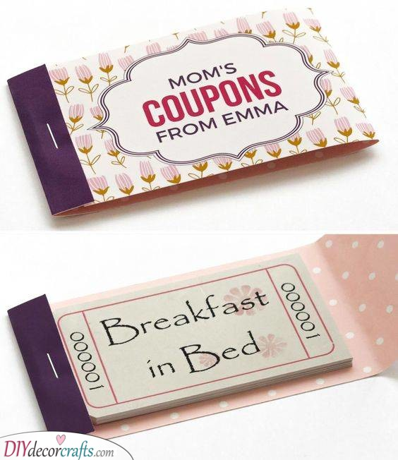 A Few Coupons - Funny Gift Ideas for Mom