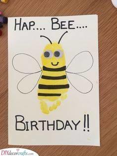 Hap-Bee Birthday - Adorable Card Ideas