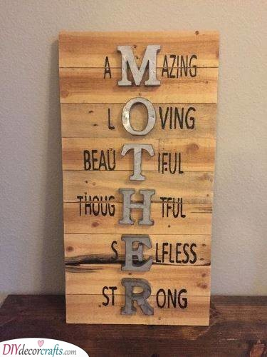 Spell it Out - Heartfelt Birthday Presents for Mom