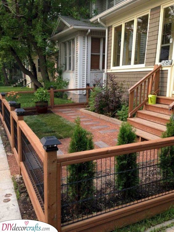 A Great Fence - The Frame of Your Garden