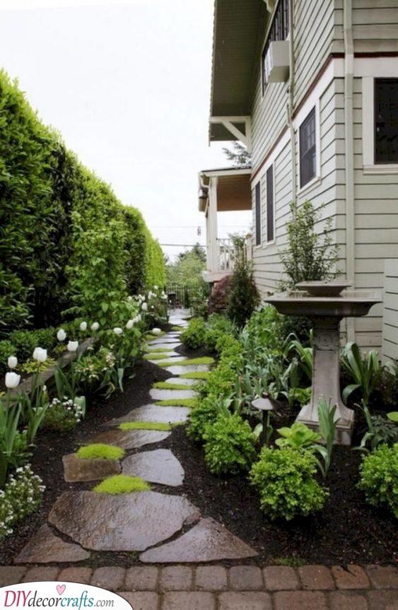 Garden Path - Cheap Landscaping Ideas