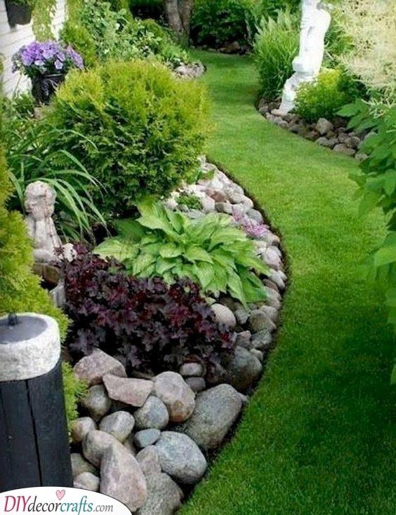A Rock Garden - An Enchanted Look