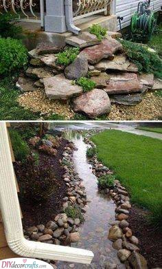 ainwater Fountain - Fabulous Ideas for Your Front Yard