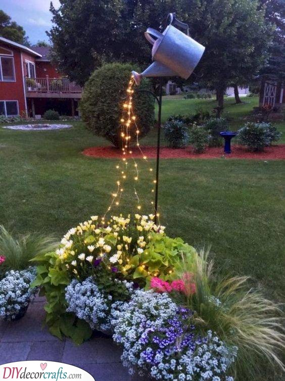 Brighten Up Your Garden - A Rain of Lights