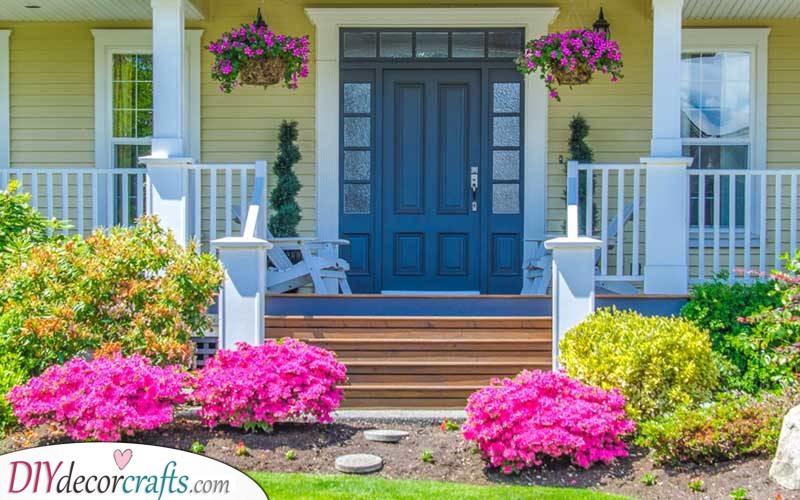 A Splash of Colour - Floral Front Yard Ideas