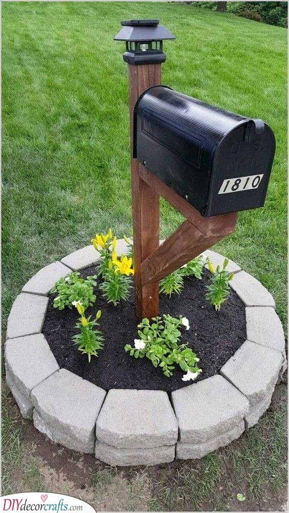 A Stylish Mailbox - Best Ideas for Front Yards