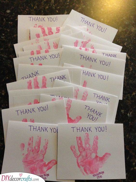 Thank You Cards - For the Guests
