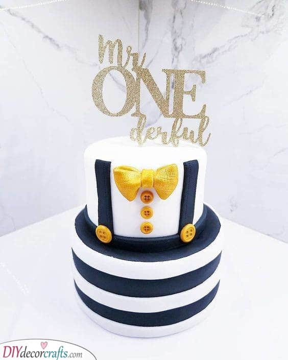 Wonderful or One-derful - Fantastic Ideas for Birthday Cakes