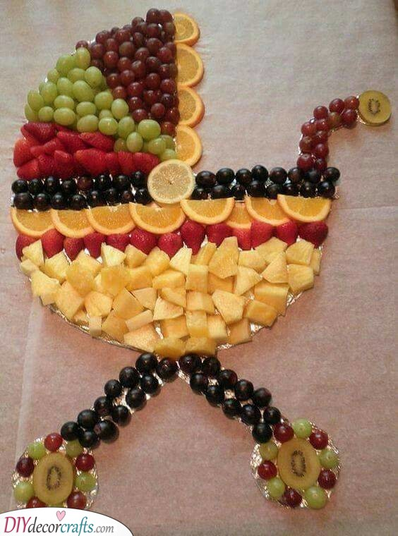 A Fruitful Baby Pram - Fruit Tray