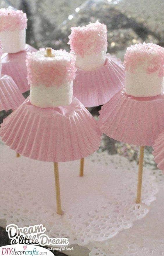 Cute Ballerinas - Baby Shower Food Ideas