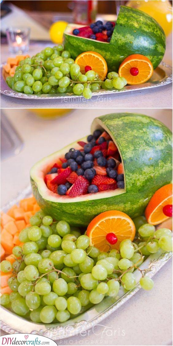 An Abundance of Fruits - Healthy Snacks
