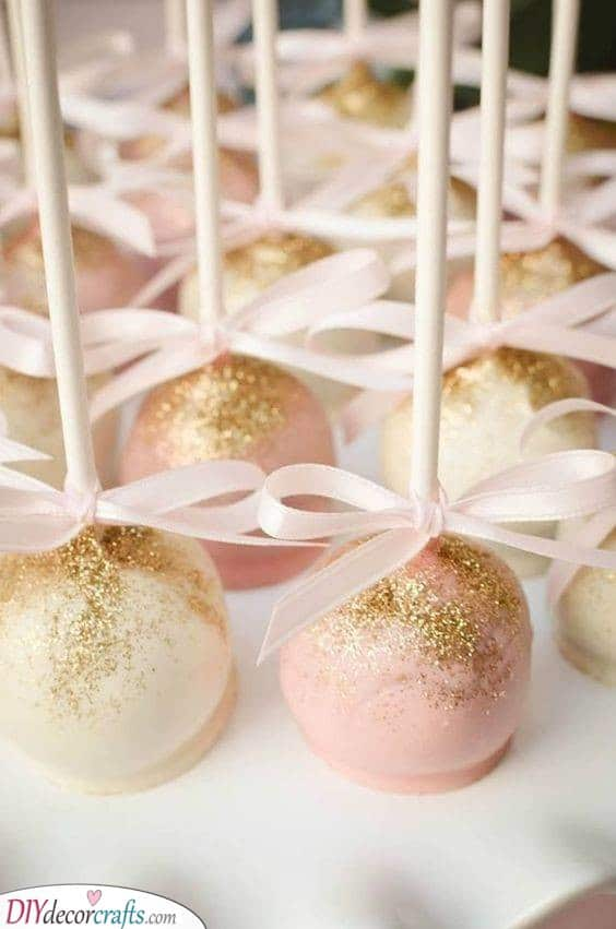 Cute Lollipops - Food for Baby Showers
