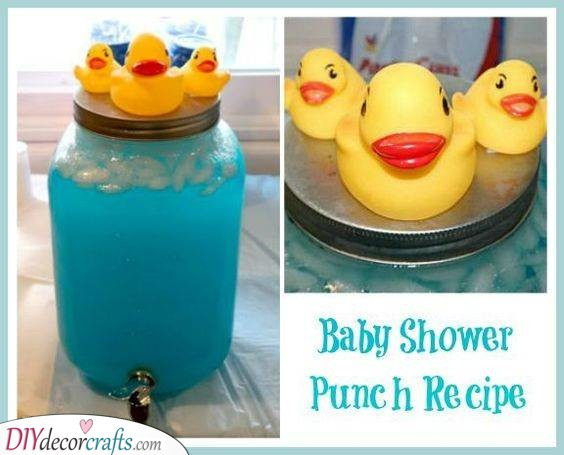A Refreshing Punch - Baby Shower Drinks