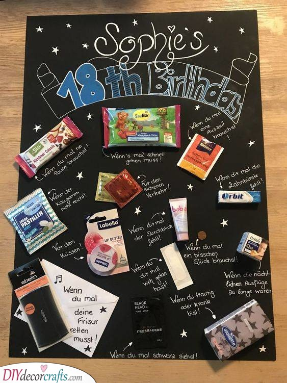 All the Necessities - Handmade 18th Birthday Gifts