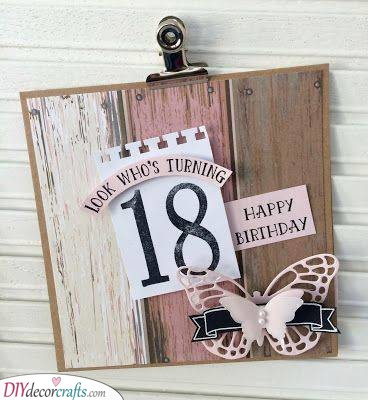 A Birthday Board - Look Who's Turning Eighteen