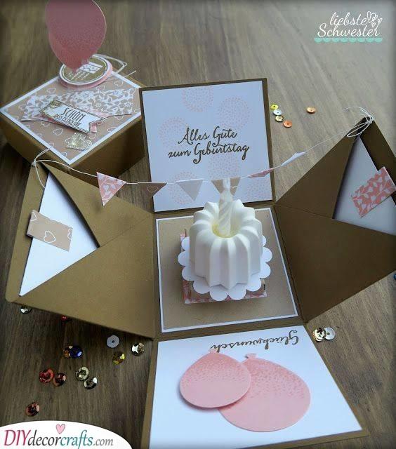 A Sweet Card - Birthday Card Ideas