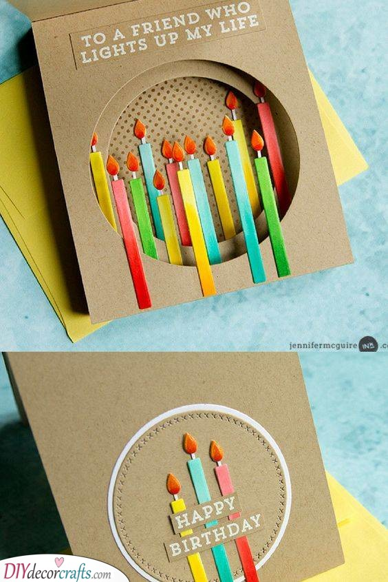 Light Up Their Day - Beautiful Birthday Cards