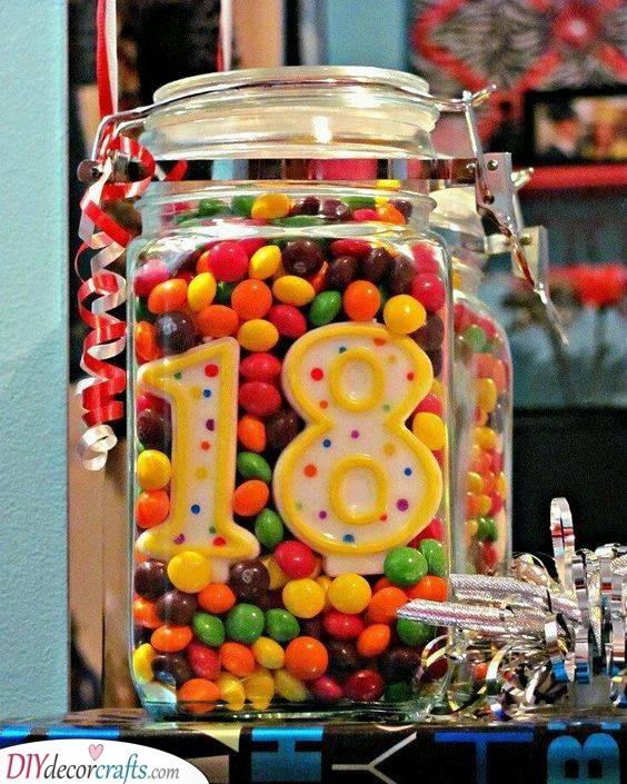 A Jar of Treats - Birthday Goodies