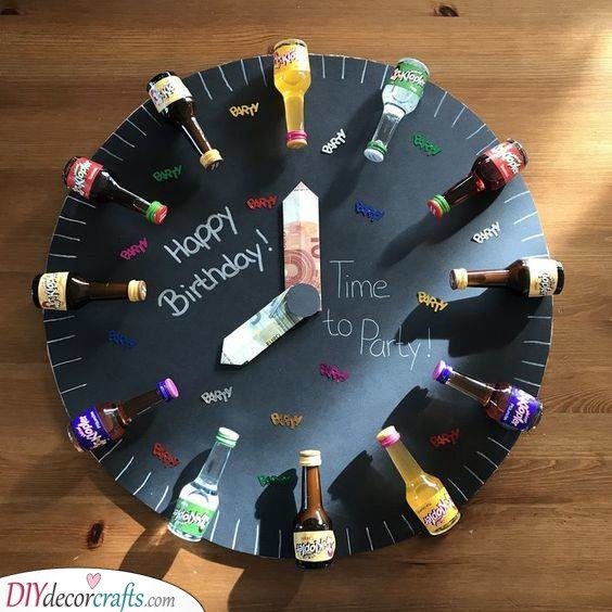 A Birthday Clock - Time to Party