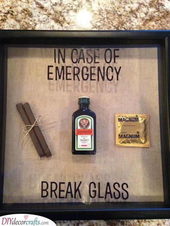 Breaking the Glass - In Case of Emergency