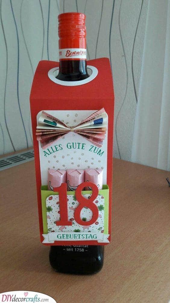 A Bottle of Liquor - 18th Birthday Presents
