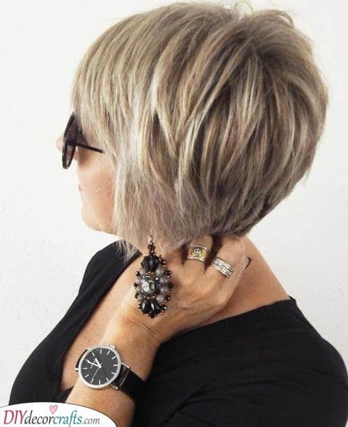 Blonde and Beautiful - Short Haircuts for Older Women
