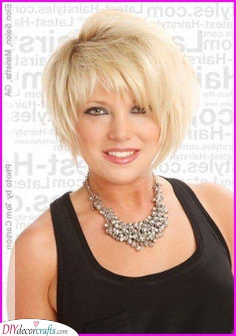 Edgy and Short - Fun Hairstyles for Older Ladies