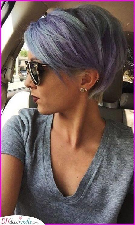 Lilac Purple - Cool Summer Hair Colours