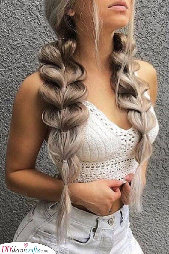 Bubble Braids - Fun and Quirky
