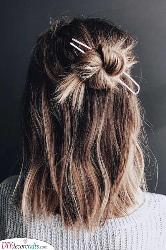 An Adorable Bun - Cute Summer Hairstyles
