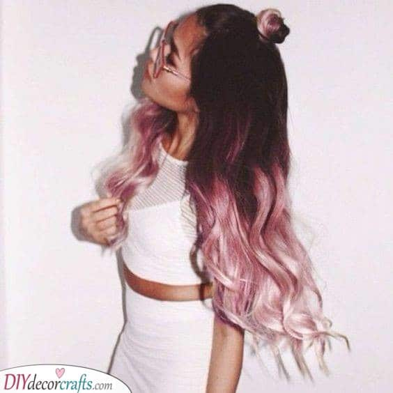 Pretty in Pink - A Coloured Ombre