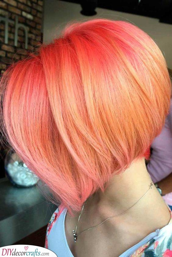 Popping Pink - Fabulous Hair Colours