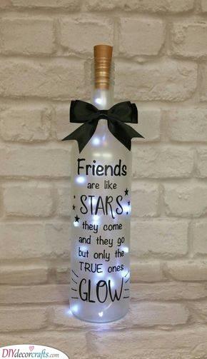 A Bottle of Fairy Lights - Brighten Her Nights