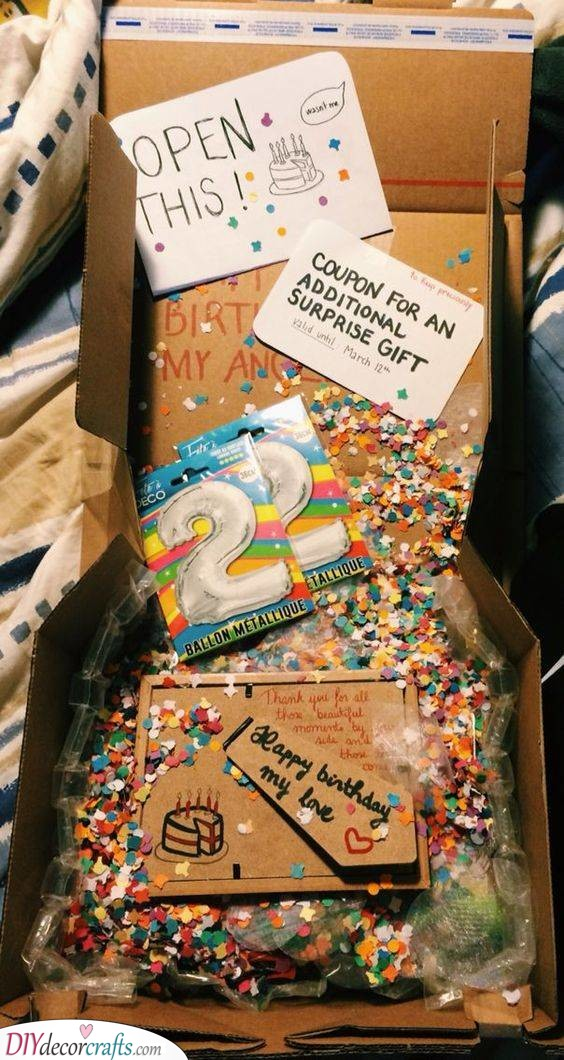 A Birthday Box - Filled with Fun