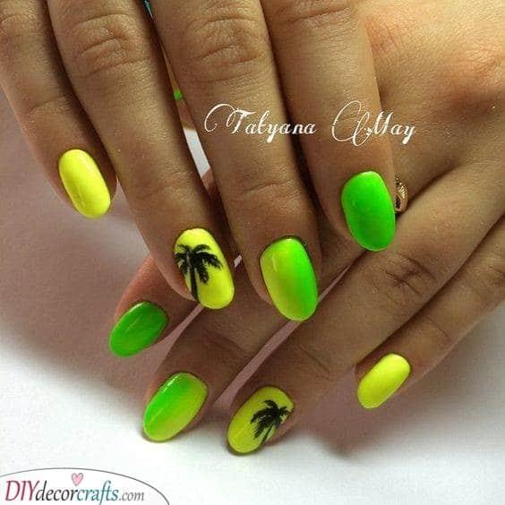 Green Skies - Tropical Vibes