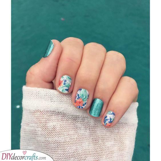 Tropical and Exotic - Summer Nail Art
