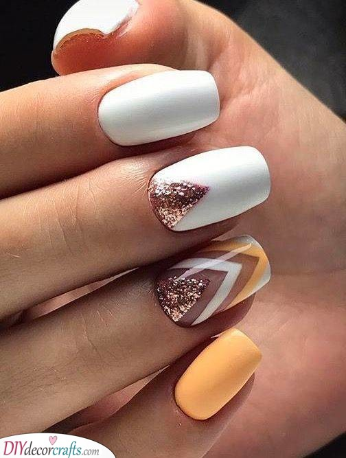 Colours of the Summer - Acrylic Nail Designs for Summer