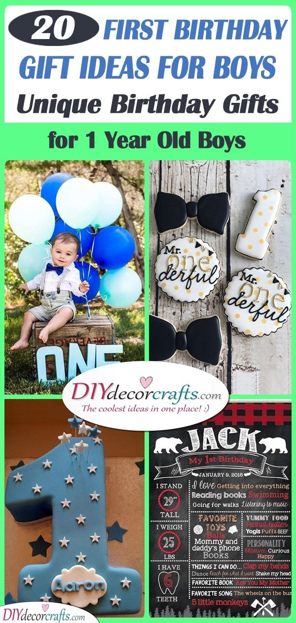 First Birthday Gift Ideas For Boys Unique Birthday Gifts For 1 Year Old Boy